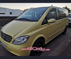 Mercedes Viano CDI 2.2 150cv, año 2005, amarilla, 205.000 km