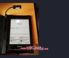 Lector SONY reader de libros electrónicos y archivos PDF+ funda original