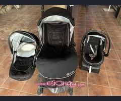 Carro de bebé 3 piezas