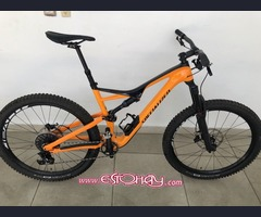 2018 Specialized Stumpjumper Comp Carbon 27.5 Mountain Trail Bike Size Large