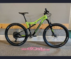 2018 Cannondale Bad Habit Carbon 2 Medium 27.5+ Green and Black