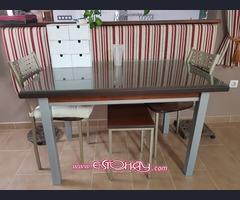 Mesa de cocina con 4 sillas
