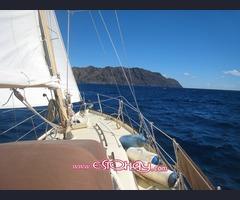 Live aboard yacht Tazacorte La Palma