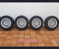"""Llantas 17"""" con gomas Michelin"""