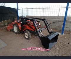 Mini tractores agrícolas de segunda mano.
