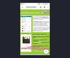 Digitalizo menu,aplico normativa por Covid