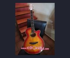 Guitarra crafter electroacústica