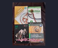 Libros de 2º Bachillerato