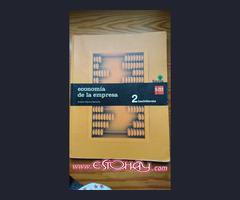 Libro Economía de la empresa 2 Bachillerato SM Savia
