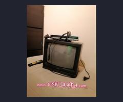 """Televisor 14""""+tdt+soporte"""