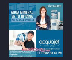 Fuente de agua mineral para hogar y empresa