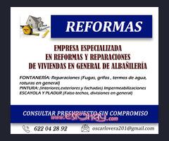 REFORMAS Y REPARACIONES EN GENERAL