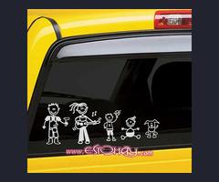 Vinilos simpáticos para tu coche!!!!!