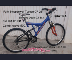 """2x FULLY STEPPENWOLF TYCOON CR 26"""""""