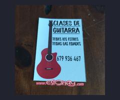 Clases de guitarra