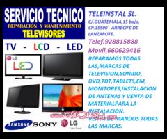 TELEINSTAL SL. REPARACIONES TELEVISION