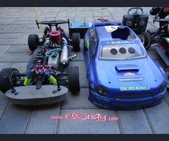 2 COCHES rally SC CAR EB_4 ESCALA 1/8