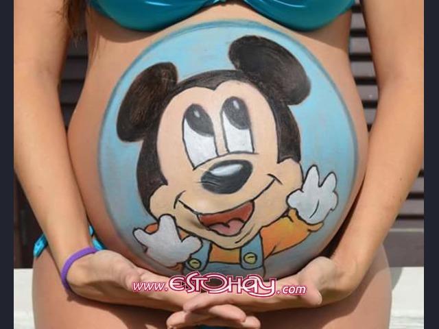 Pintura En Barrigas De Embarazadas Arrecife » EstoHay.com