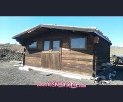 Casa de madera 5x4 mts