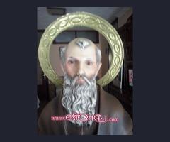 Imagen de san antonio abad (san anton)patron de mascotas